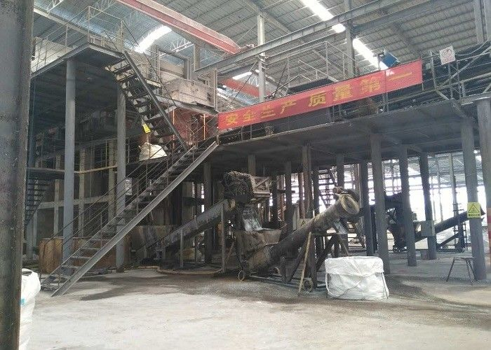 Automatic Sodium Silicate Production Plant Quartz Sand Soda Ash Material