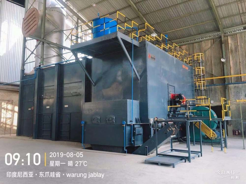 Eco Friendly Oil Gas Fired Hot Air Generator Full Combustion Clean Operating Environment